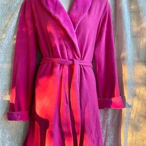 Victoria's Secret pink colored robe. Size small